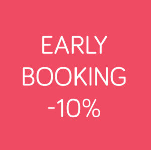 Early booking -10% jusqu'au 16/02/20