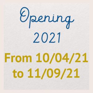 Opening 2021