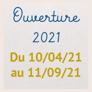 Ouverture 2021